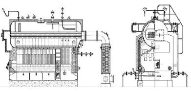 DZH Boiler Drawing