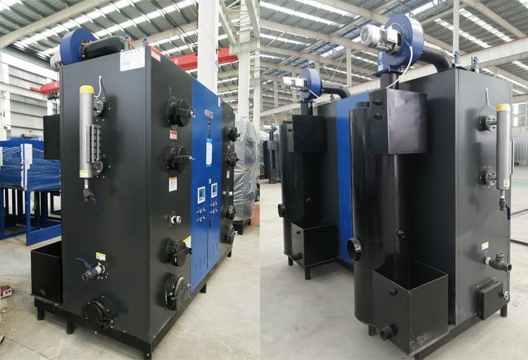 Wood Steam Generator