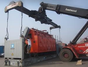 Biomas steam generator